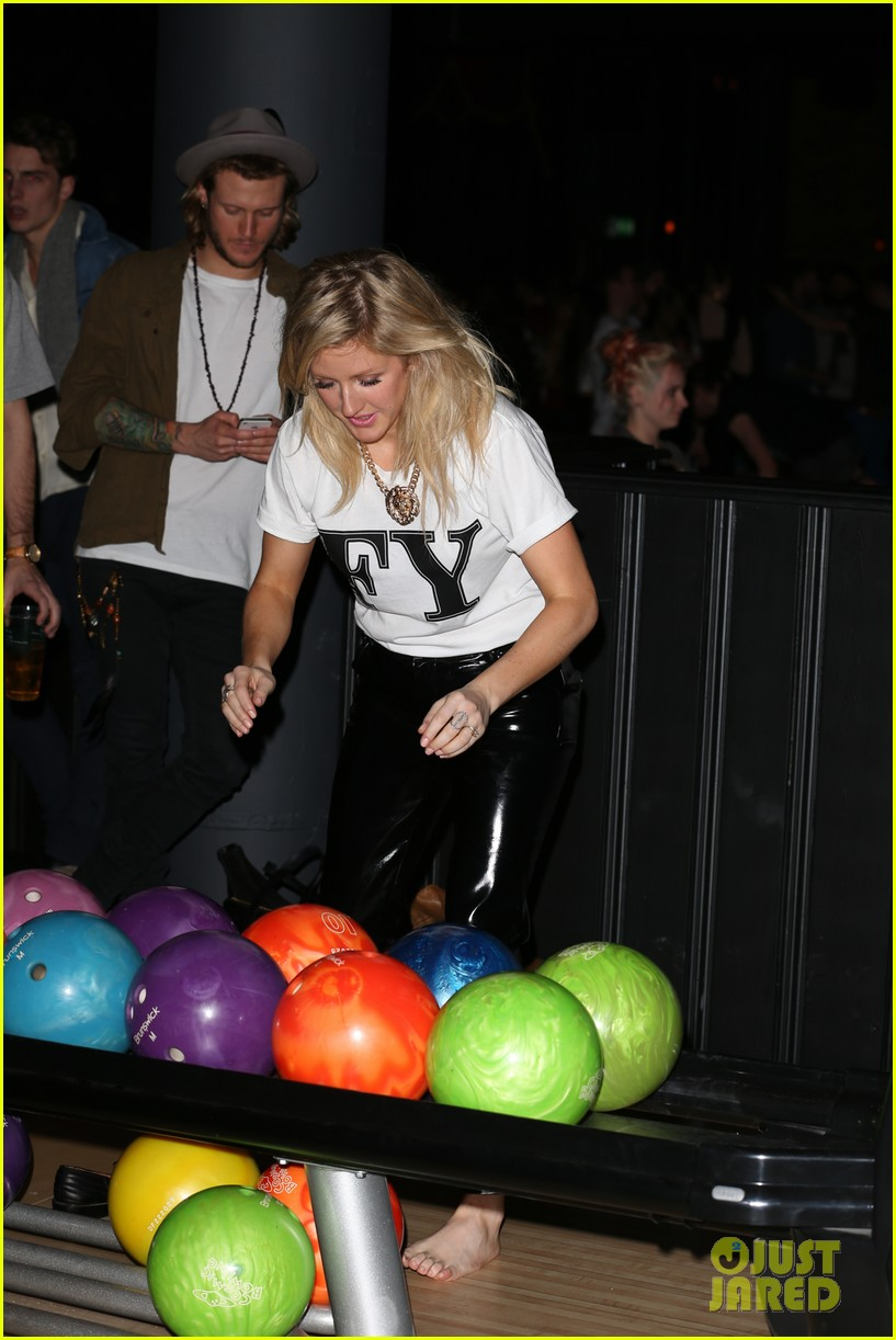 cara delevingne ellie goulding brooklyn bowl launch party 13