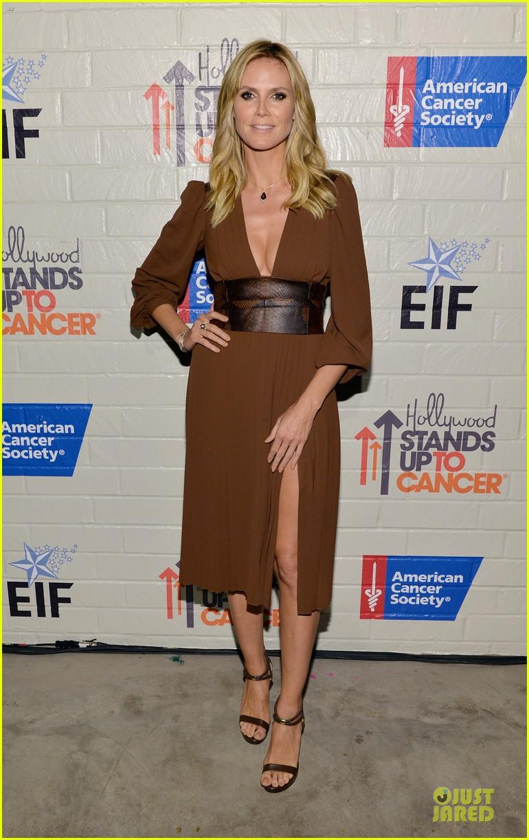 zooey deschanel heidi klum stand up to cancer 033043327