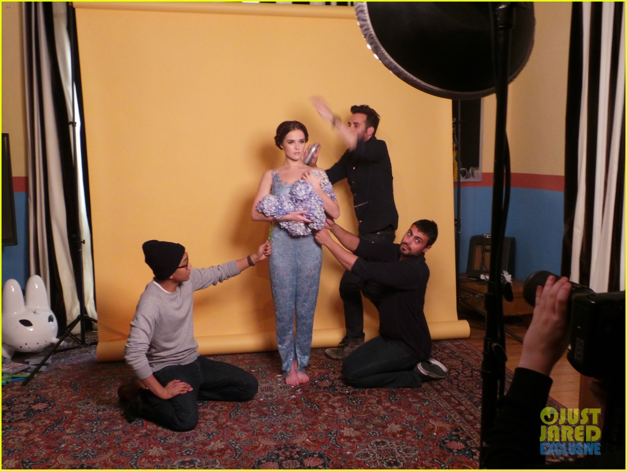zoey deutch jj spotlight of the week behind the scenes pics 13