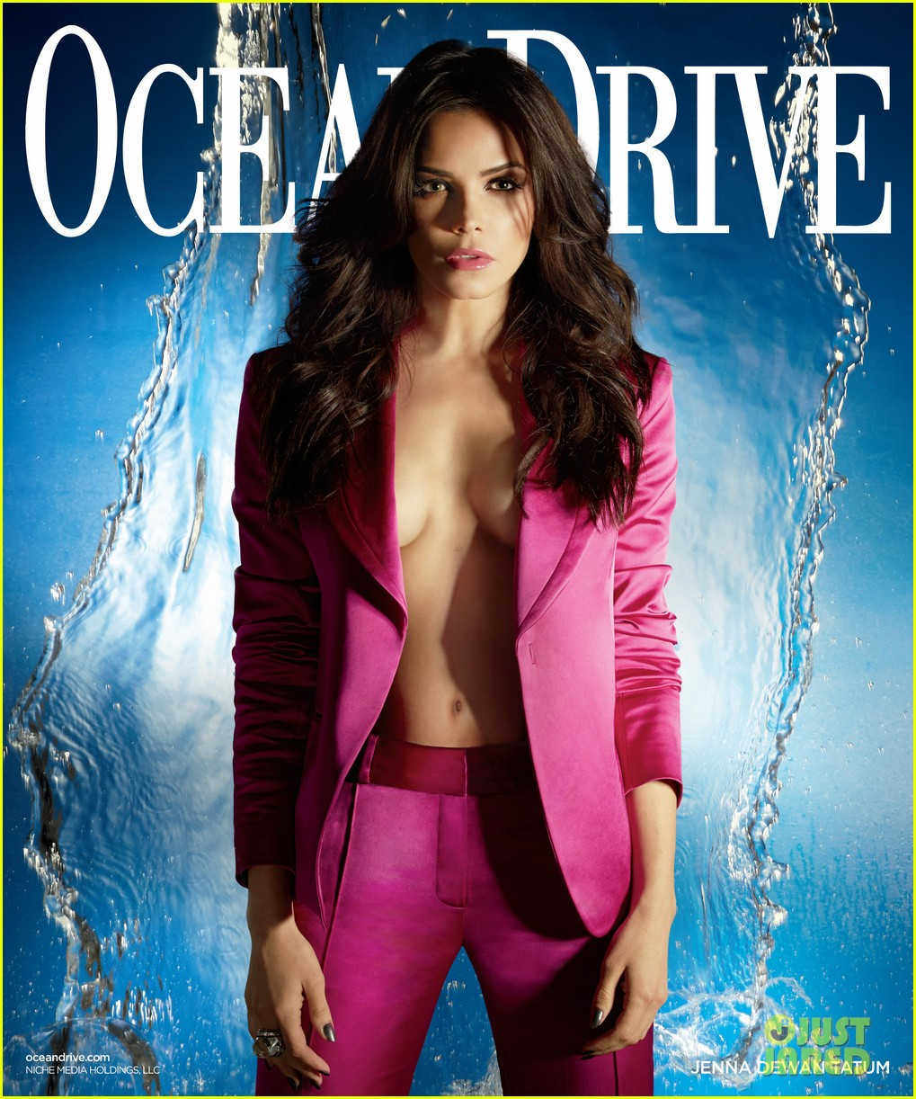 jenna dewan displays cleavage for ocean drive 063022097
