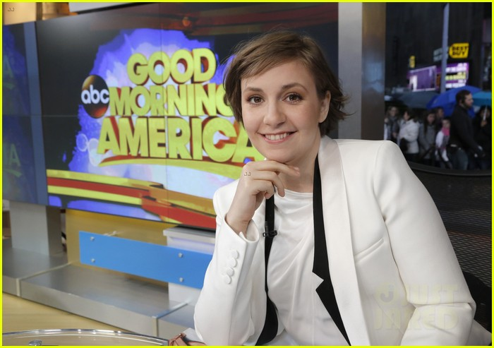 cameron diaz lena dunham meet at good morning america 023023885