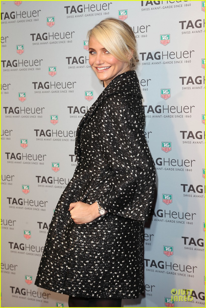 cameron diaz tag heuer ny flagship store opening 043043025