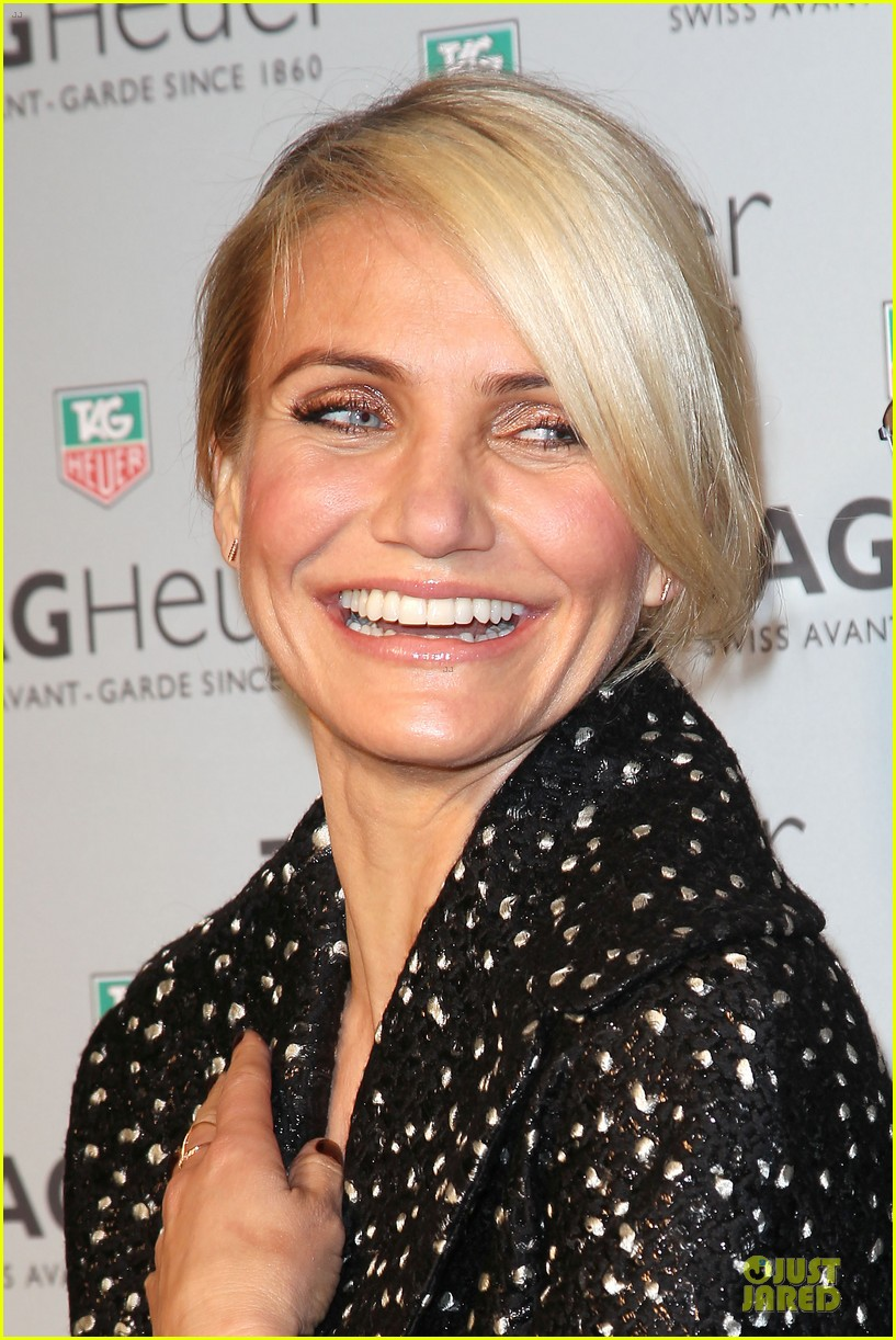 cameron diaz tag heuer ny flagship store opening 093043030