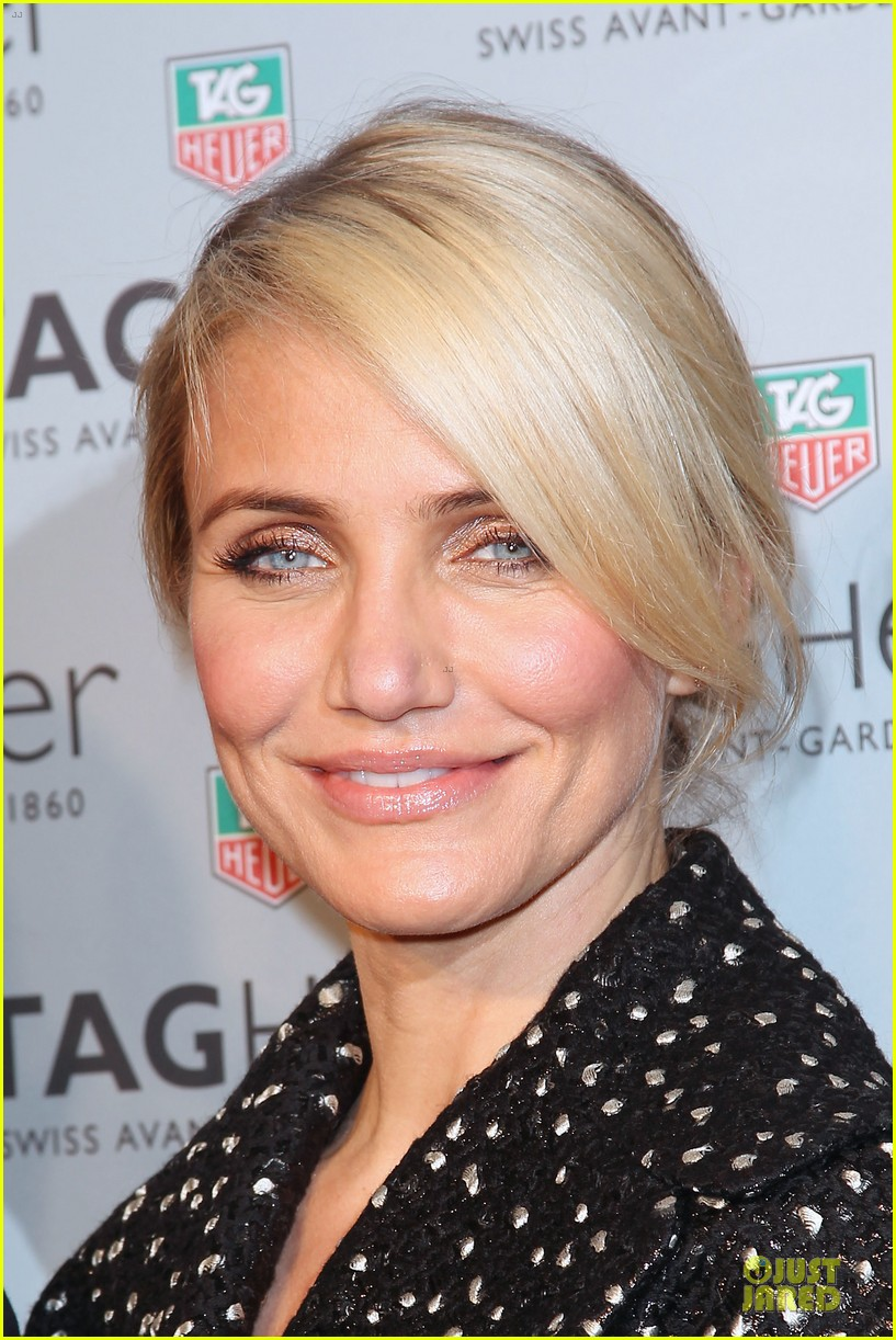 cameron diaz tag heuer ny flagship store opening 113043032