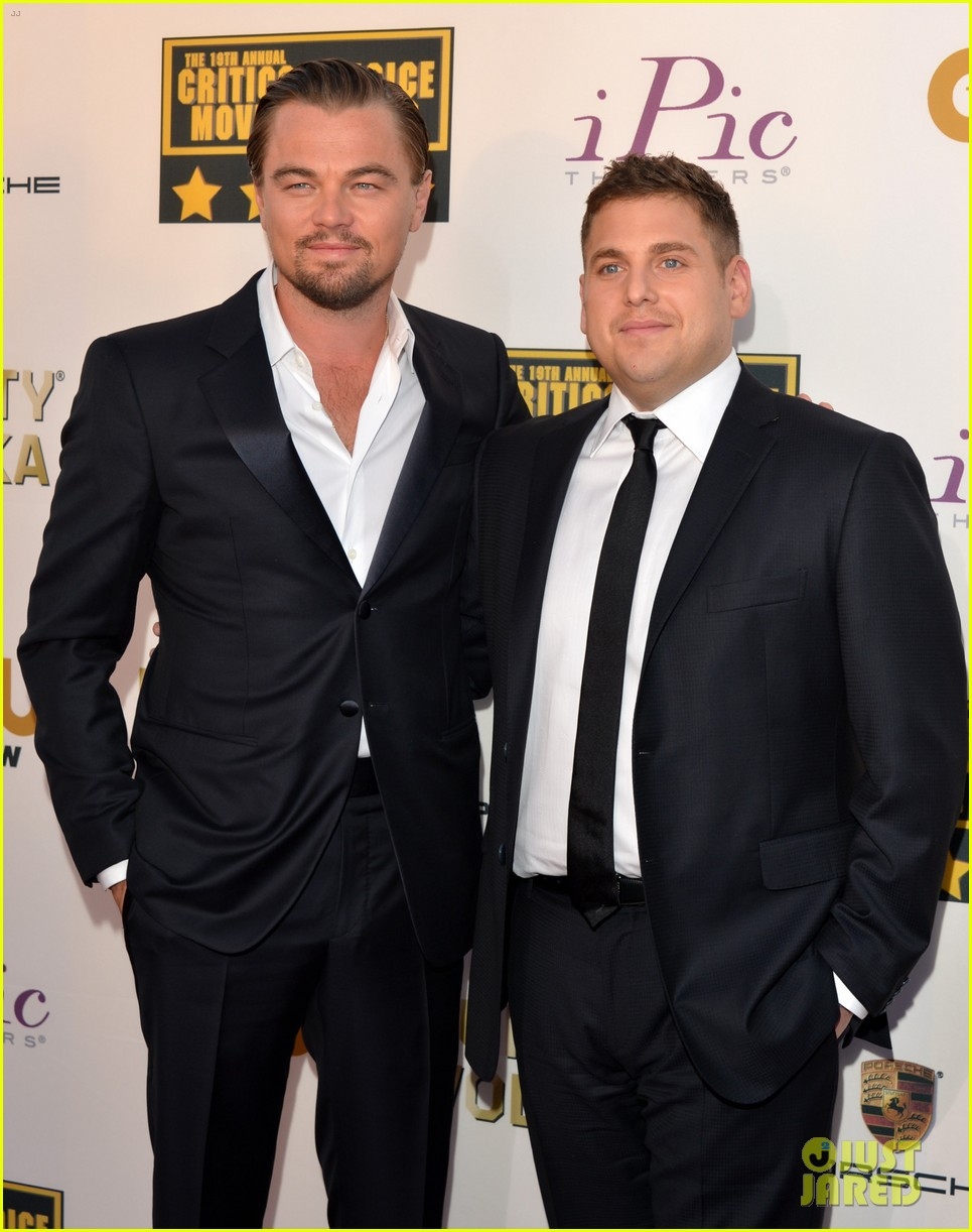 leonardo dicaprio jonah hill critics choice awards 2014 013032963