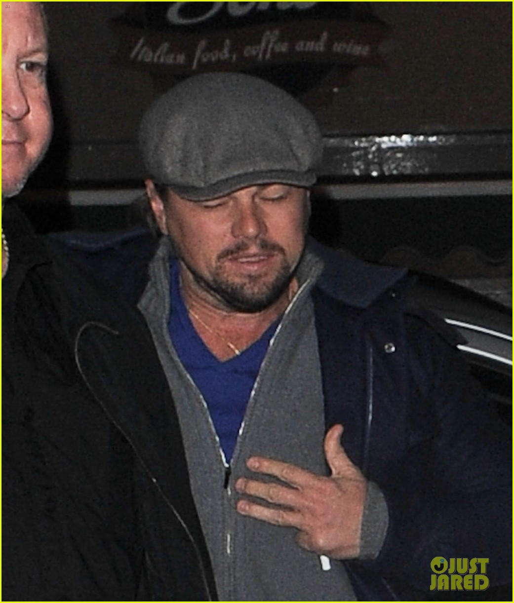 leonardo dicaprio jonah hill grab dinner together in london 083025941