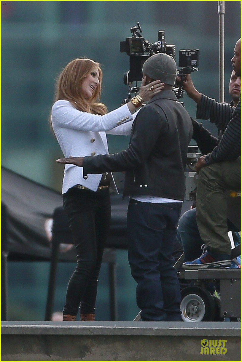 celine dion ne yo incredible music video shoot 013040030