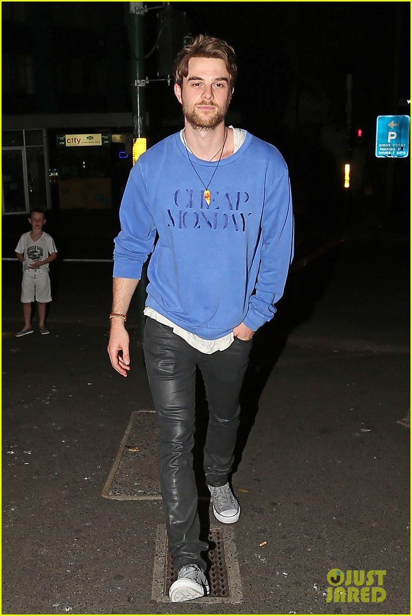 nina dobrev sydney night out with nathaniel buzolic 143021871