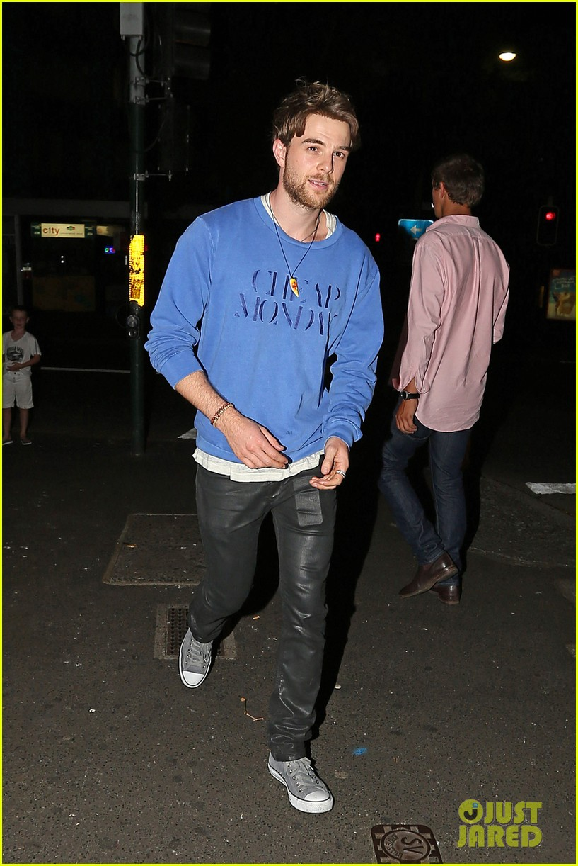 nina dobrev sydney night out with nathaniel buzolic 173021874