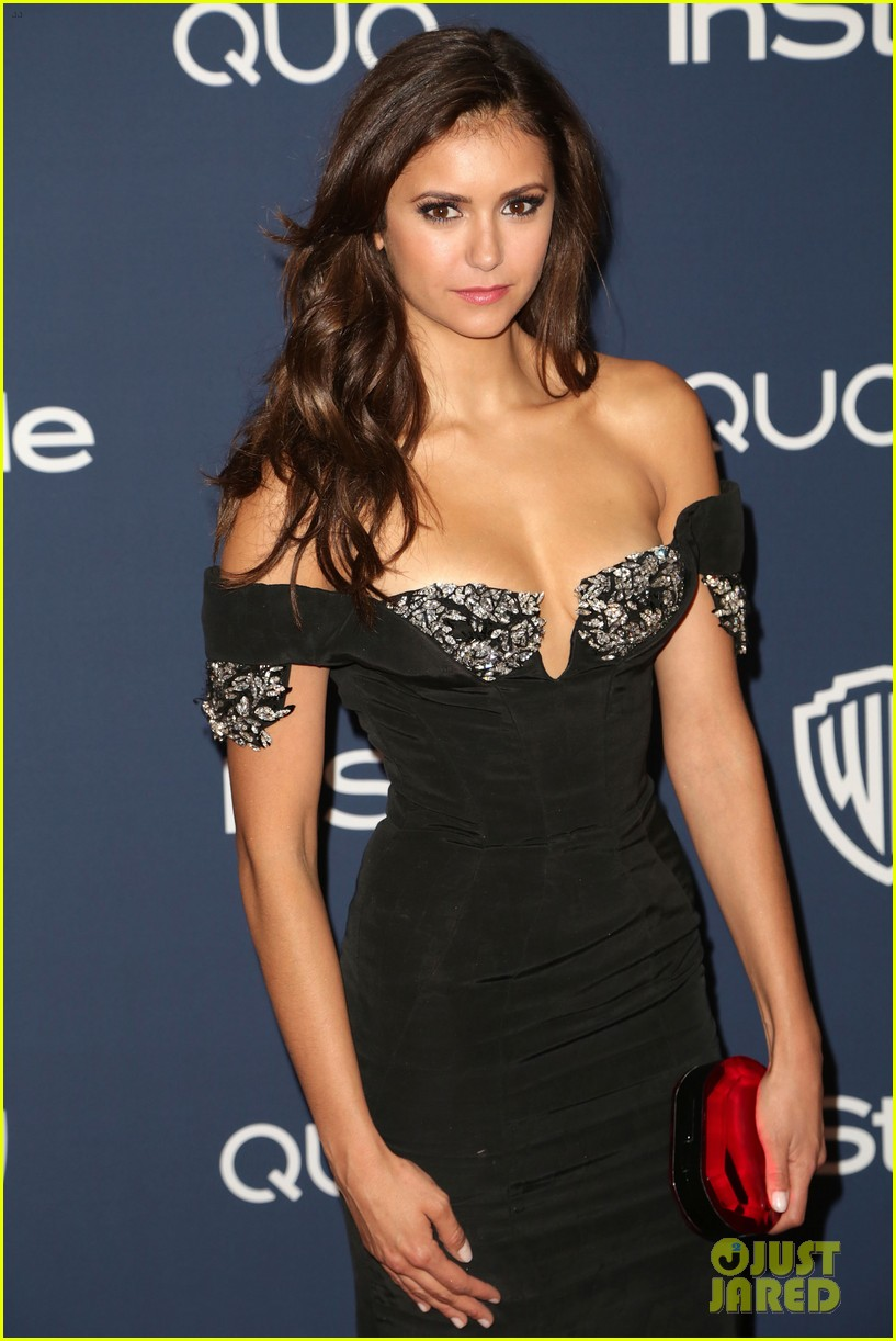 nina dobrev paul wesley instyle golden globes party 2014 133030064