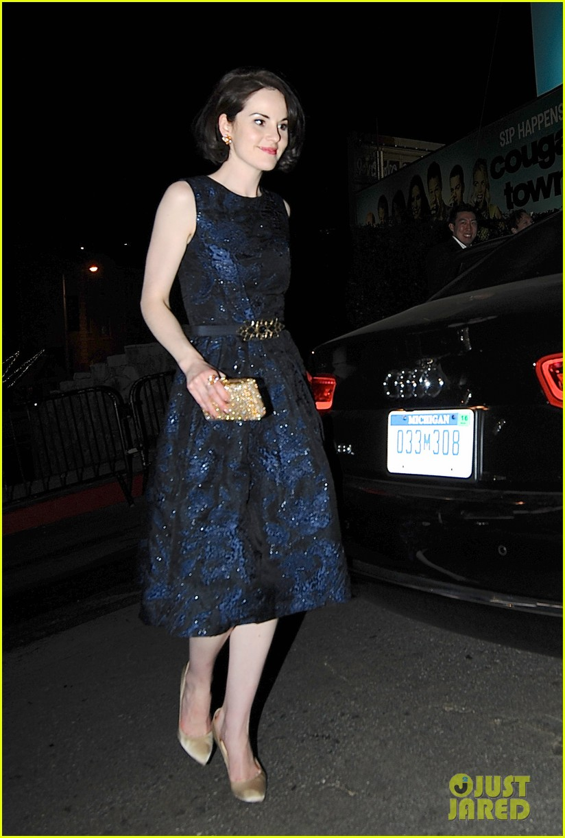 michelle dockery brie larson golden globes after party 2014 023030436