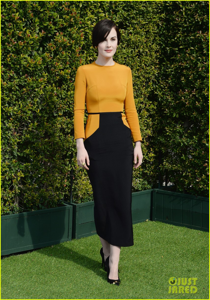 michelle dockery anna kendrick lovegolds glamour event 01