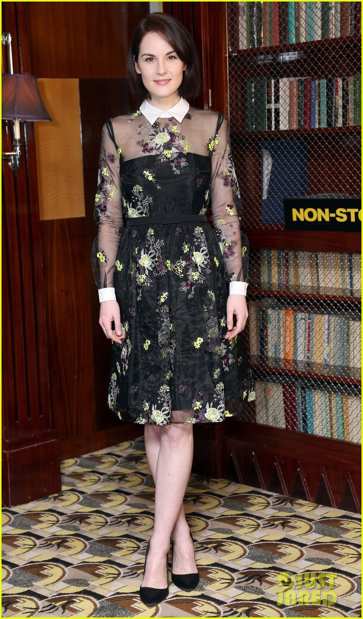 michelle dockery julianne moore non stop uk photo call 013044089