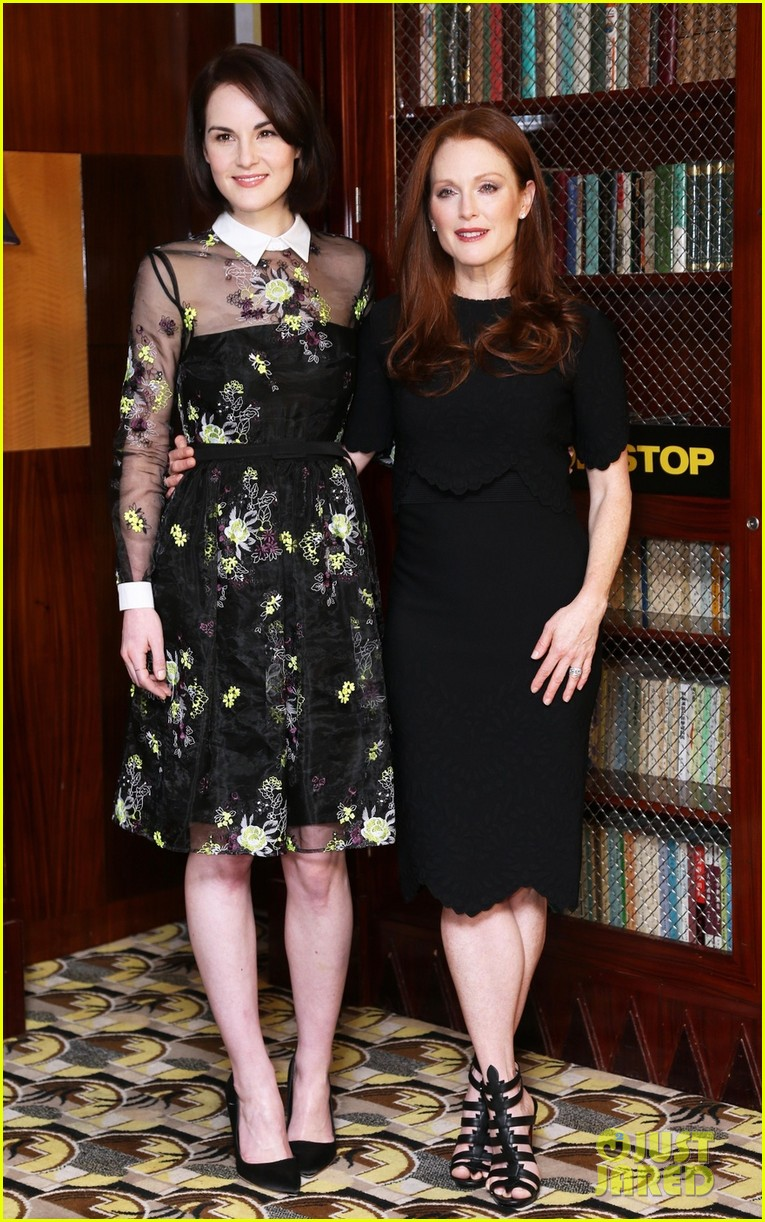 michelle dockery julianne moore non stop uk photo call 03