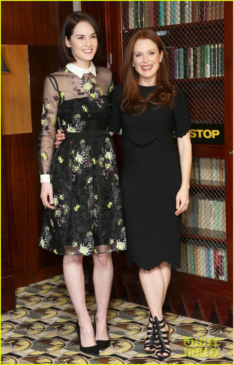 michelle dockery julianne moore non stop uk photo call 04