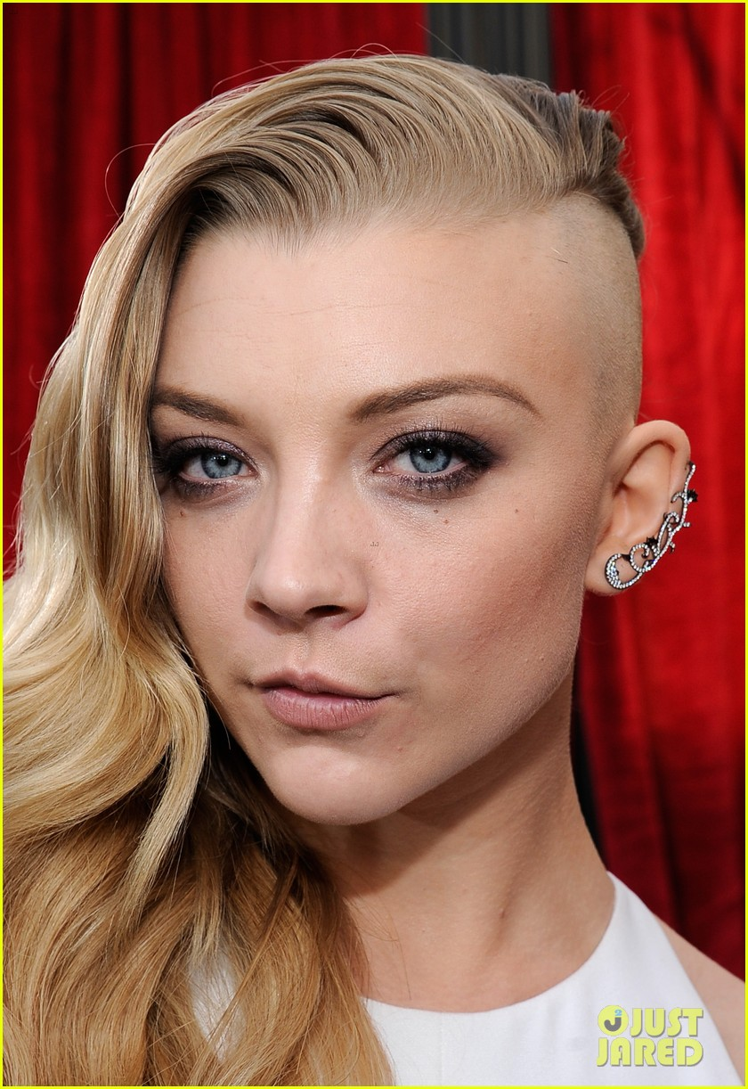 natalie dormer debuts half shaved head at sag awards 2014 04