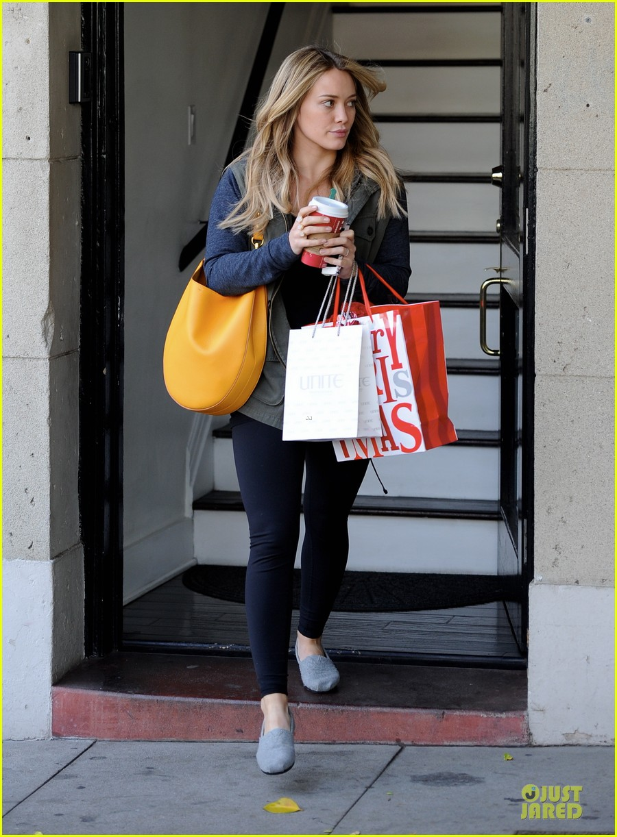 hilary duff park date with luca after hair appointment 063022409
