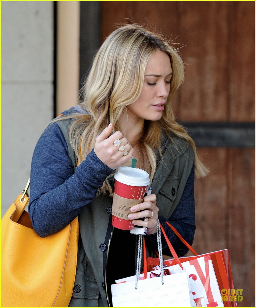 hilary duff park date with luca after hair appointment 08