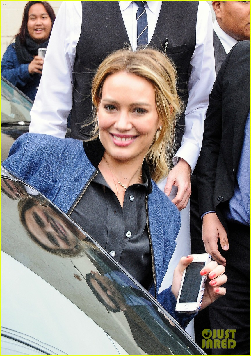 hilary duff solo cecconis lunch 093044837