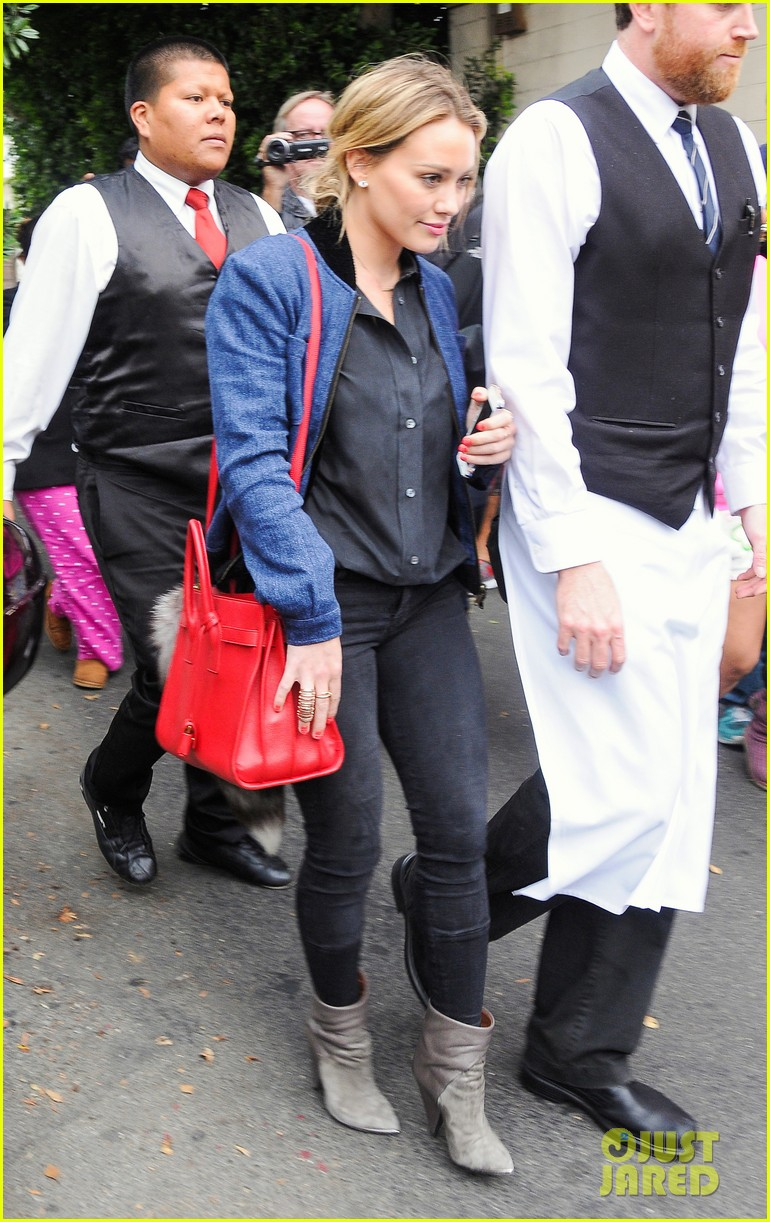 hilary duff solo cecconis lunch 153044843