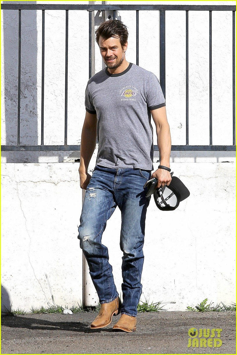 josh duhamel back in la after teaming up with pedigree at sundance 013037855