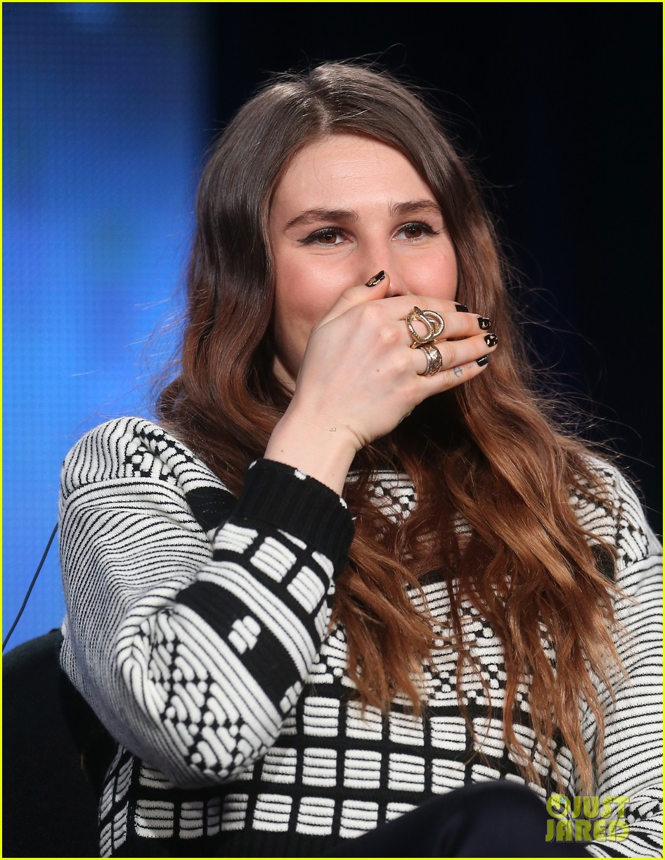 lena dunham allison williams girls tca winter tour panel 133026622