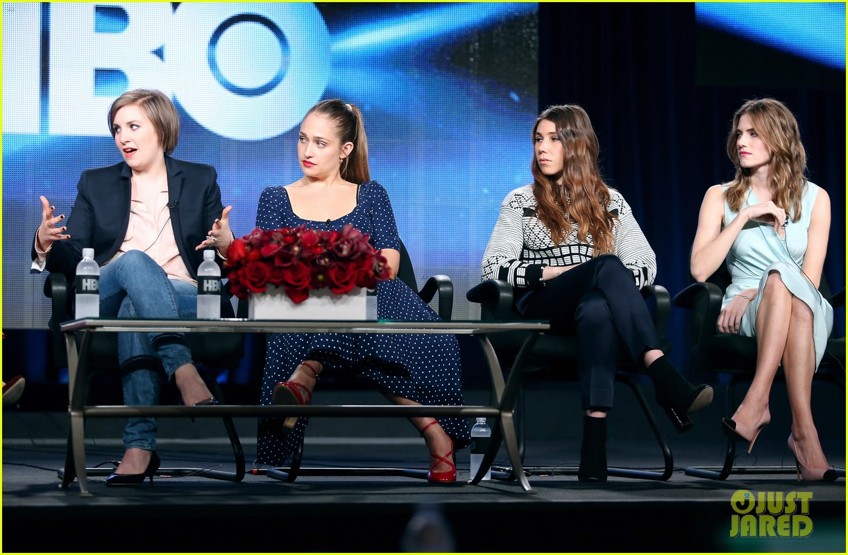 lena dunham allison williams girls tca winter tour panel 183026627