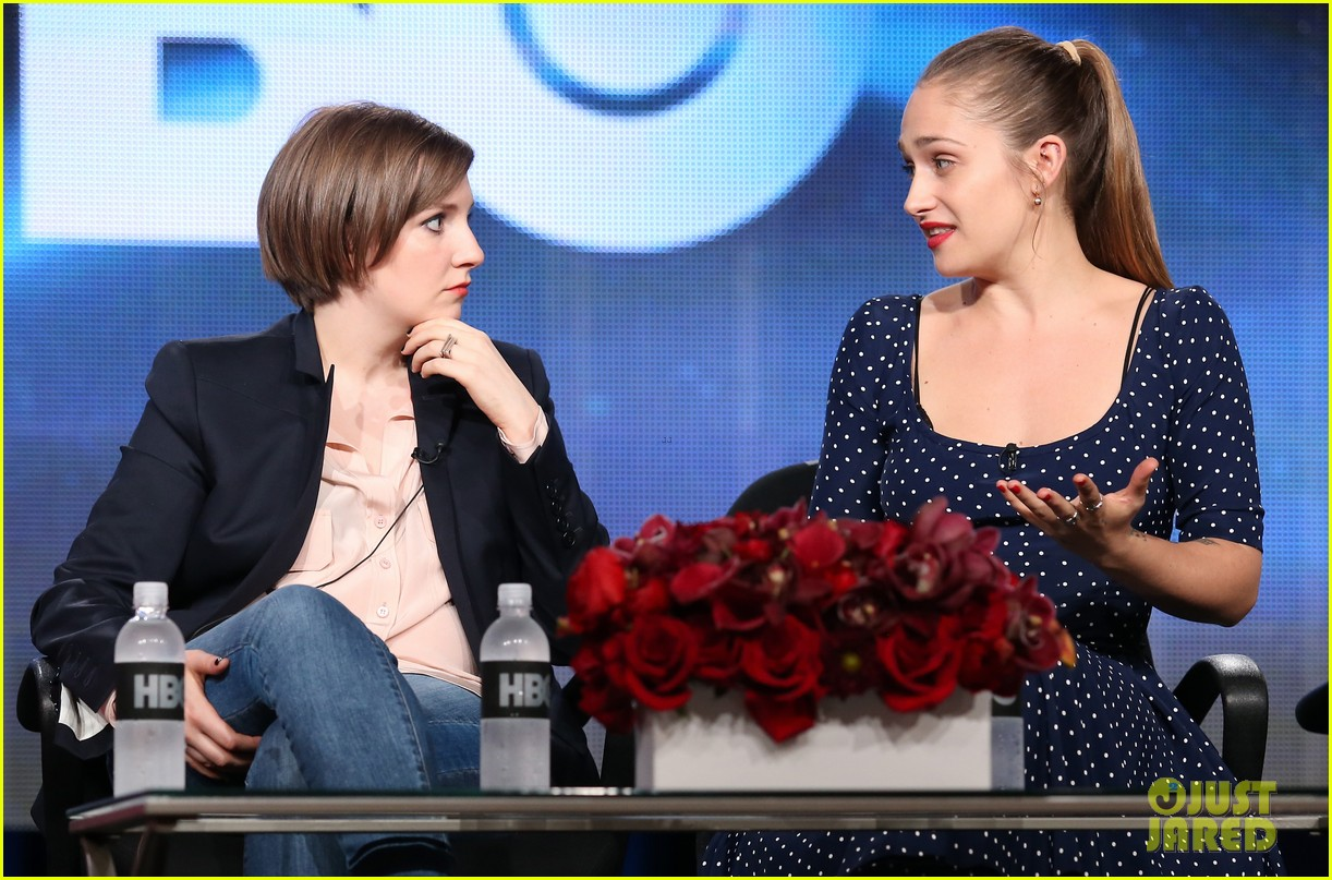 lena dunham allison williams girls tca winter tour panel 193026628