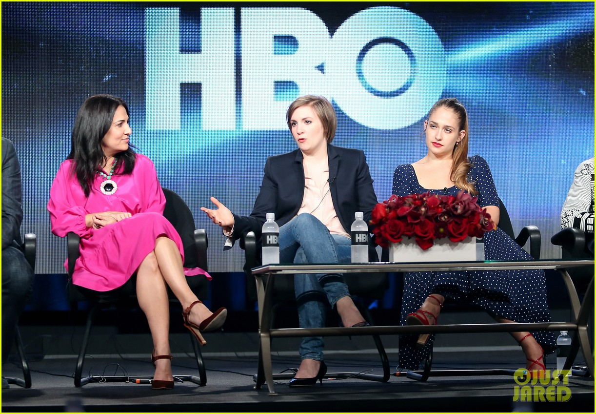lena dunham allison williams girls tca winter tour panel 203026629