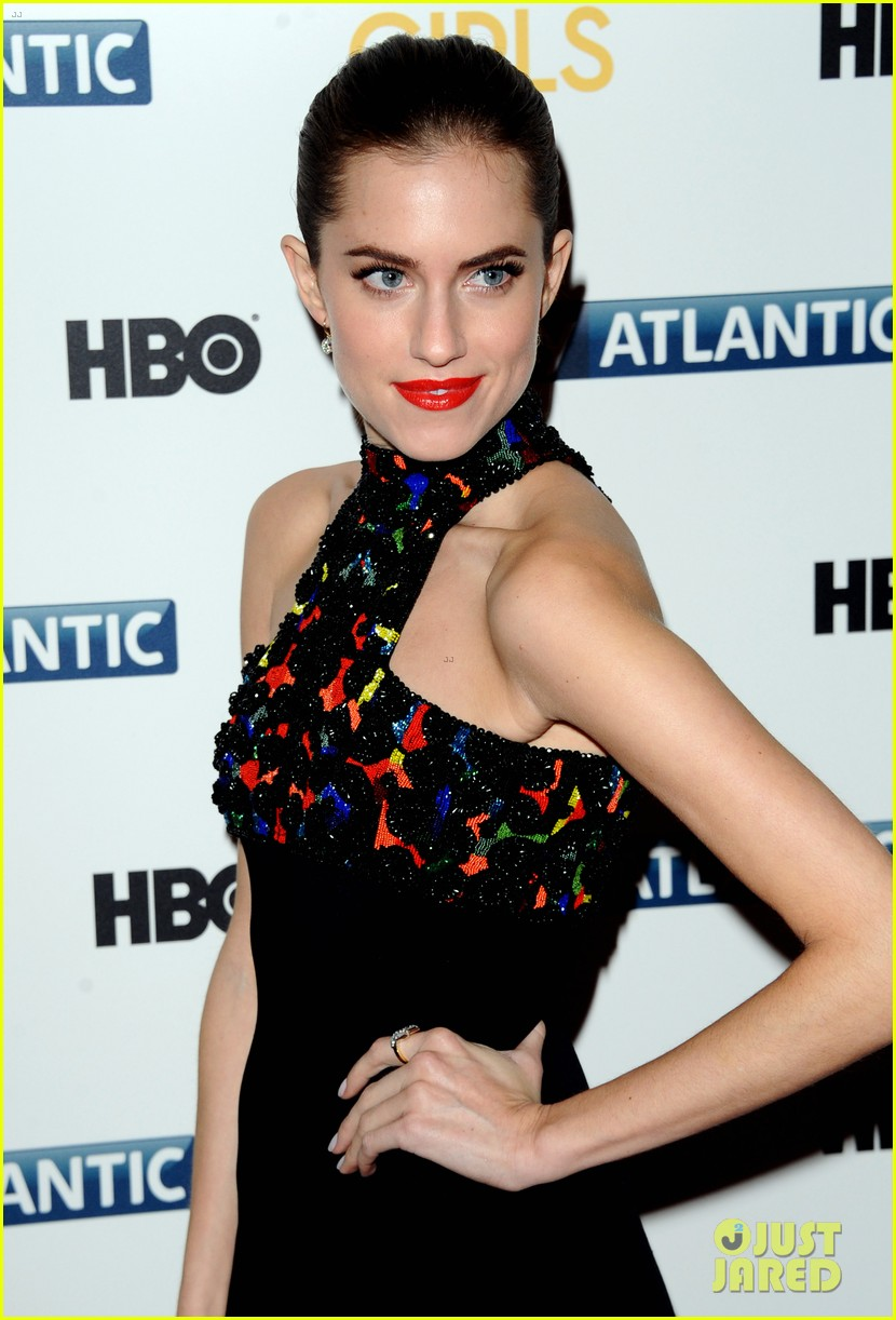 lena dunham allison williams girls season 3 uk premiere 173032102
