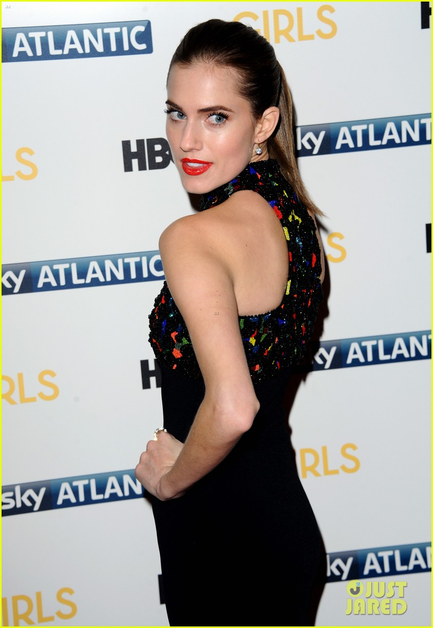 lena dunham allison williams girls season 3 uk premiere 263032111