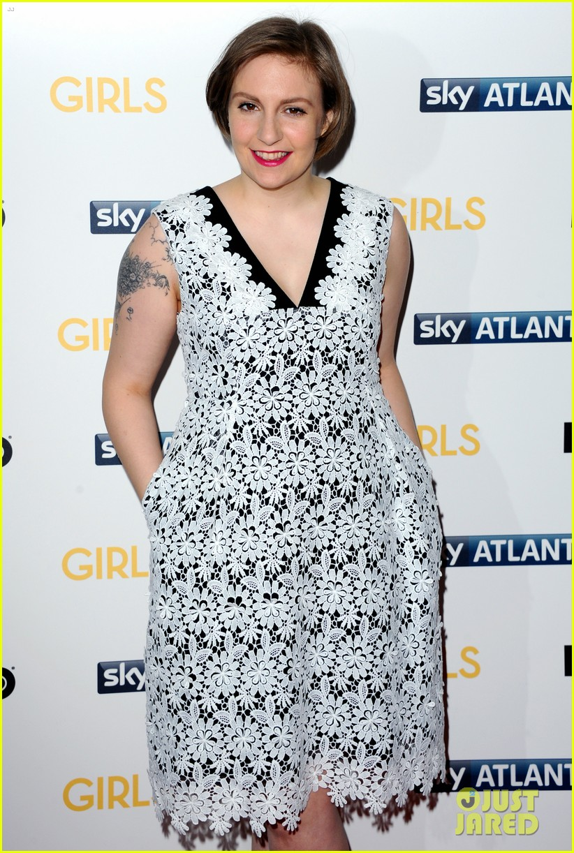 lena dunham allison williams girls season 3 uk premiere 283032113