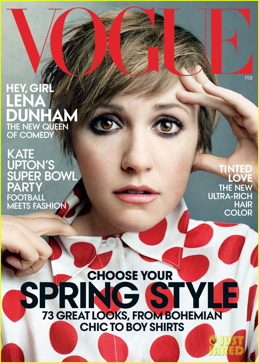 lena dunham covers vogue february 2014 01