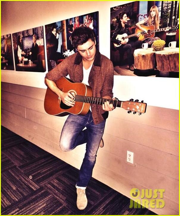 Zac Efron Sings Plays Guitar For Ellen Degeneres On Her Birthday