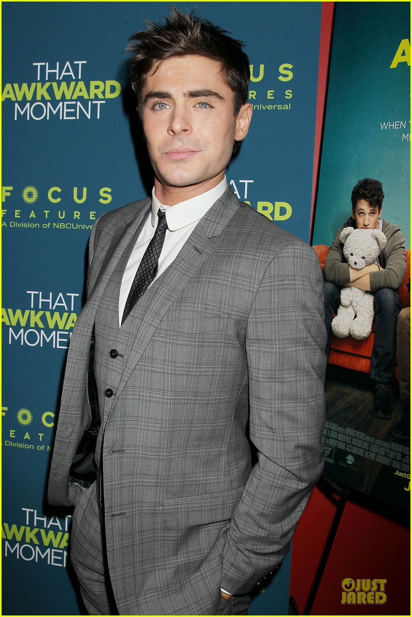 zac efron imogen poots that awkward moment premiere 11
