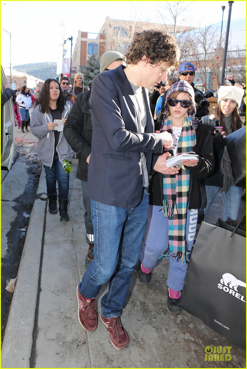 jesse eisenberg the double sundance premiere after party 053034334