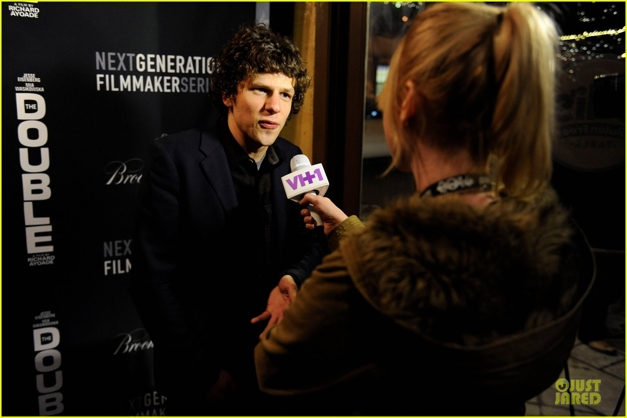 jesse eisenberg the double sundance premiere after party 103034339
