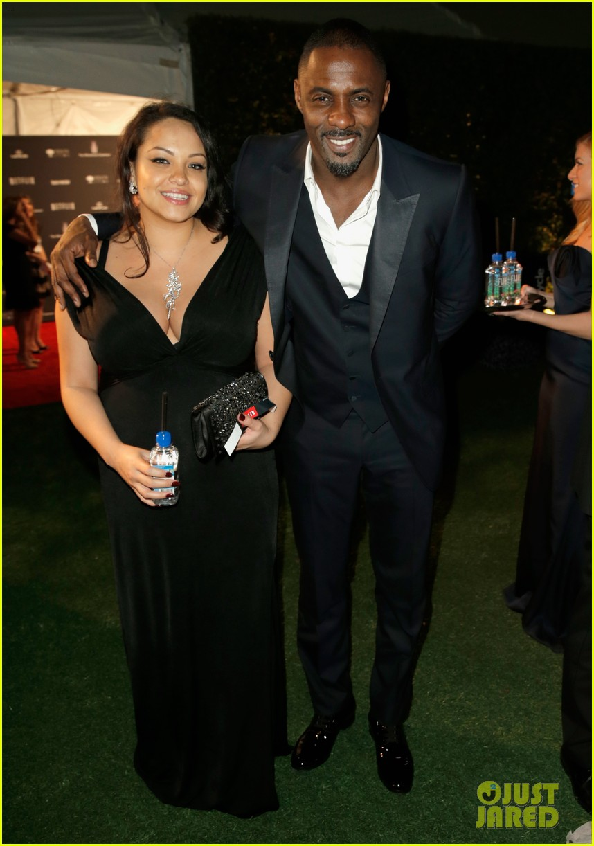 idris elba pregnant girlfriend naiyana garth golden globes 2014 013030091