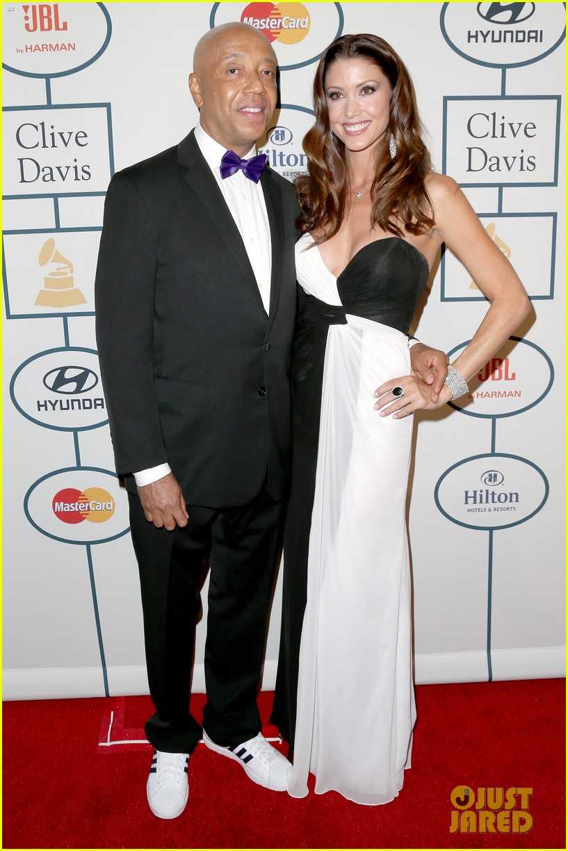shannon elizabeth russell simmons new couple at grammys party 033040420