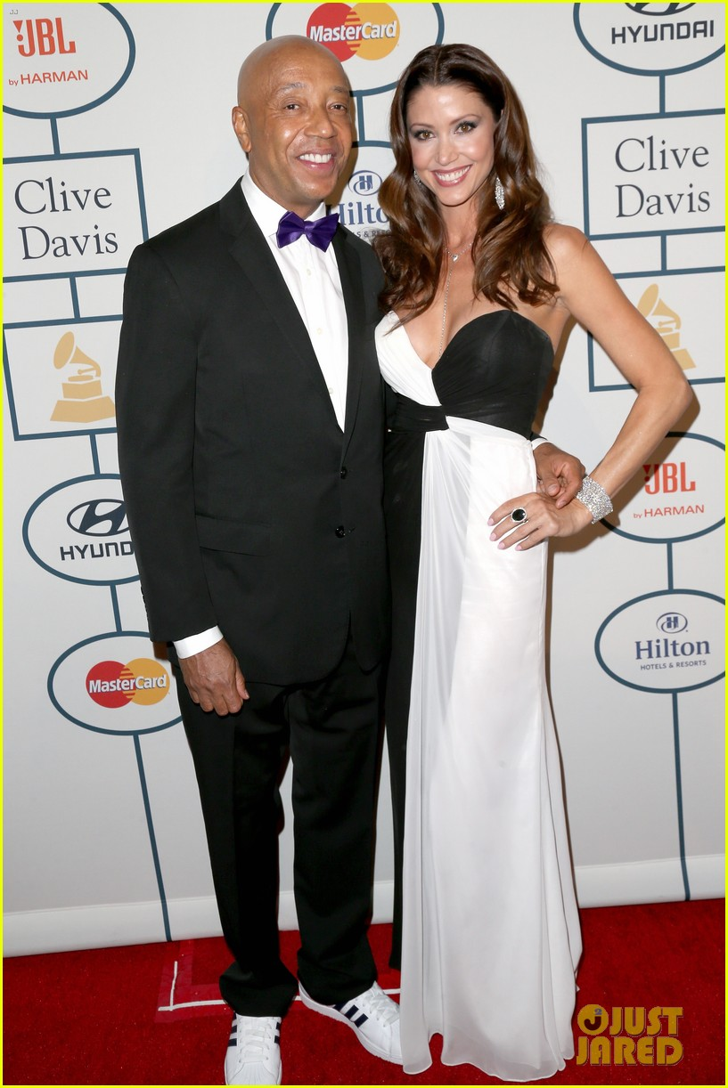 shannon elizabeth russell simmons new couple at grammys party 06