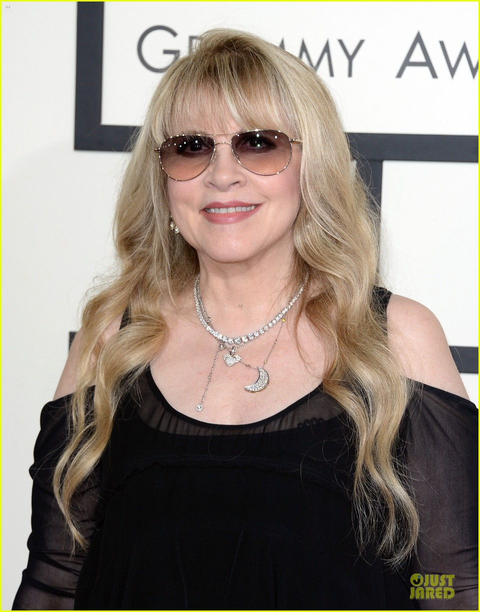 gloria estefan stevie nicks grammys 2014 red carpet 093041630
