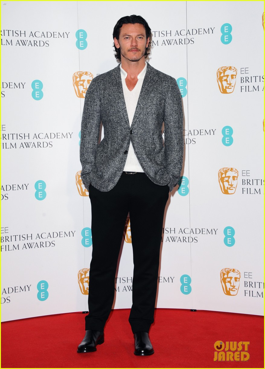 luke evans helen mccrory 2014 bafta film awards nominations photo call 073025171