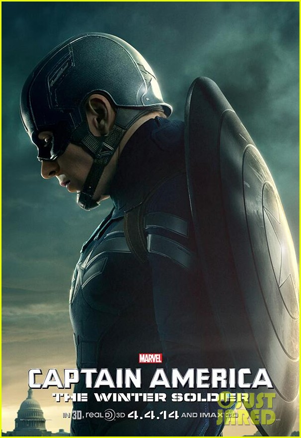 chris evans is full of emotions for captain america character poster 033044348