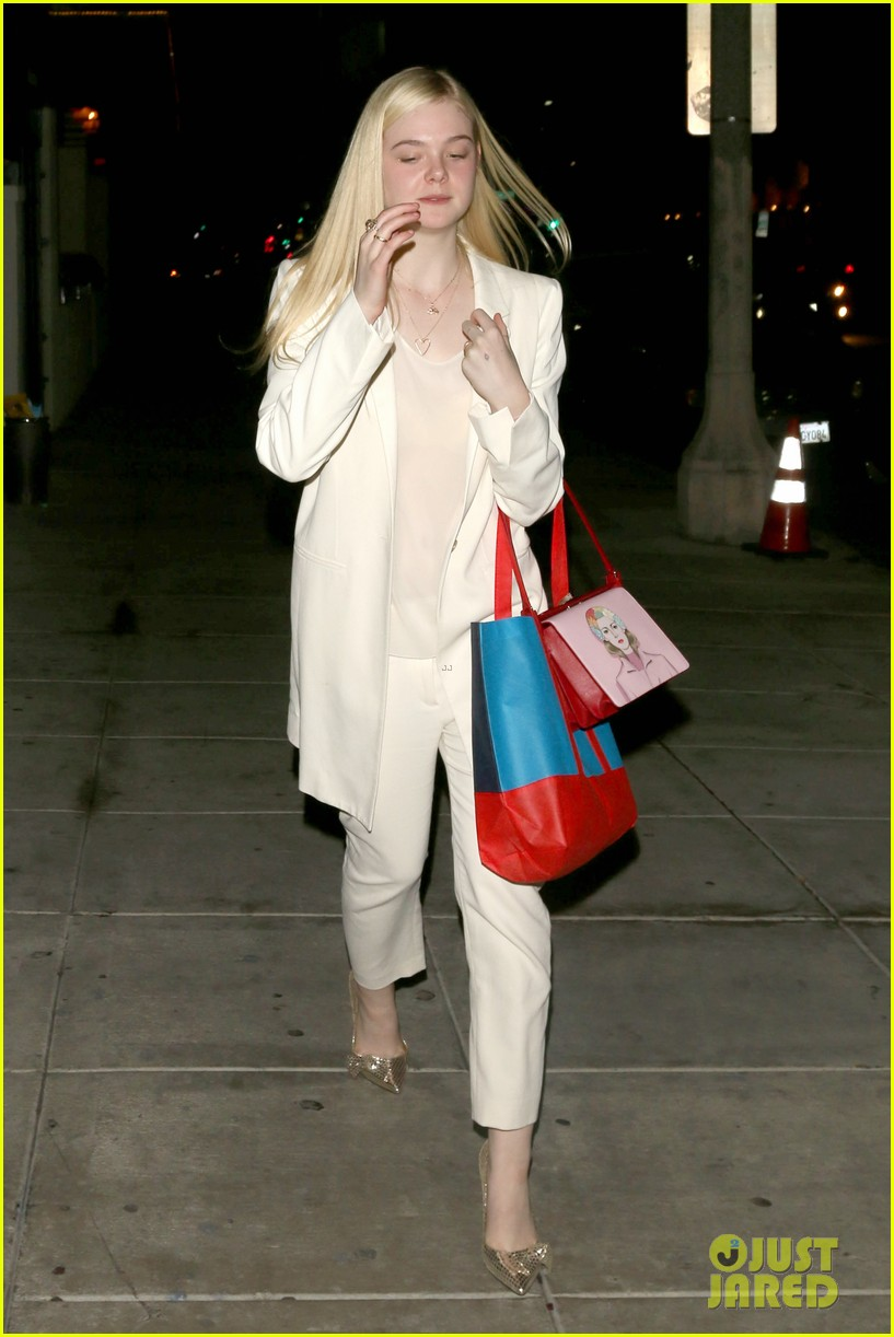 elle fanning matsuhisa dinner date with male friend 143042218