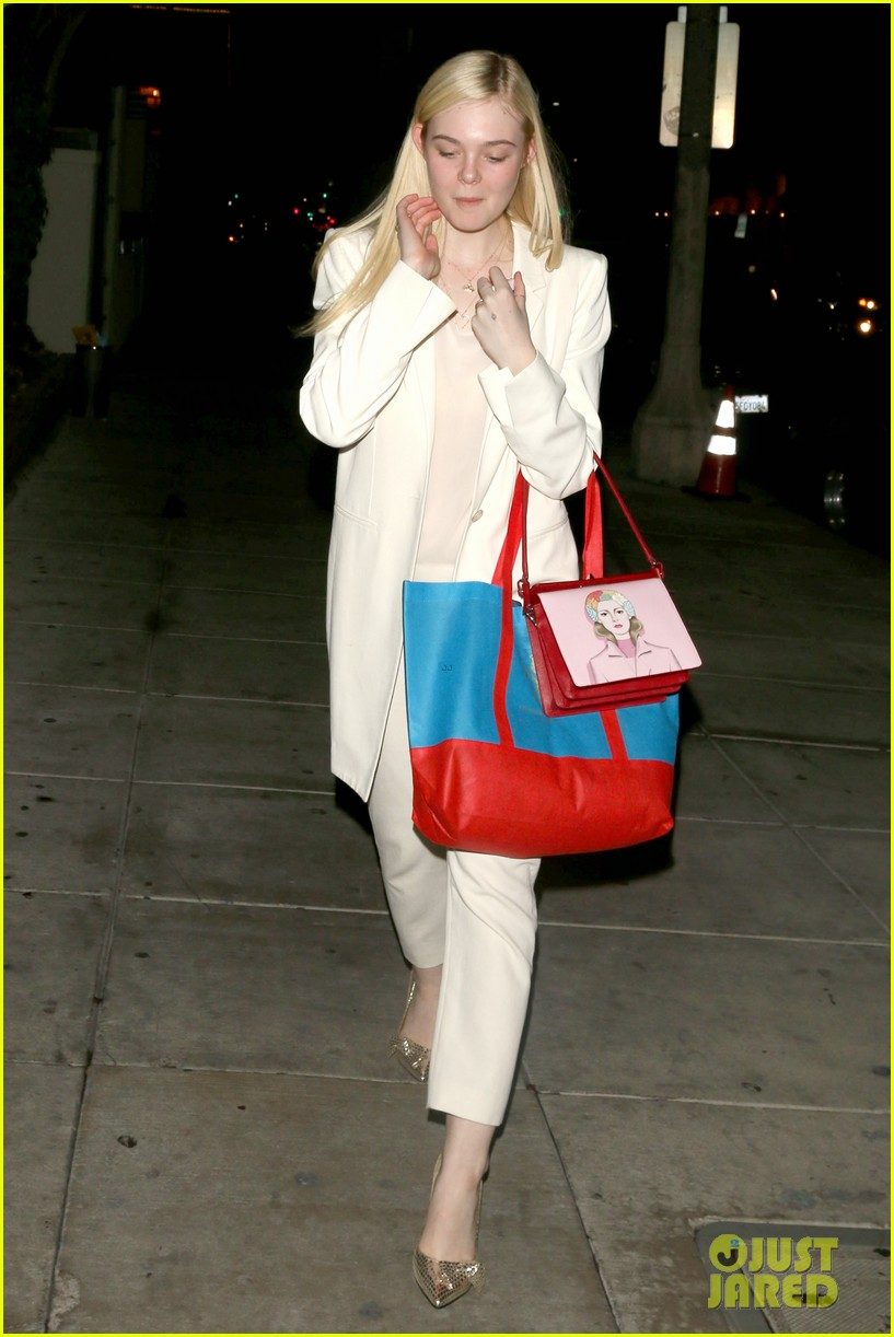 elle fanning matsuhisa dinner date with male friend 153042219