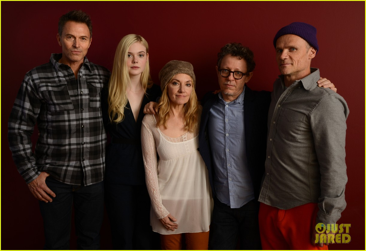 elle fanning aaron paul meet up at varietys sundance studio 213036634