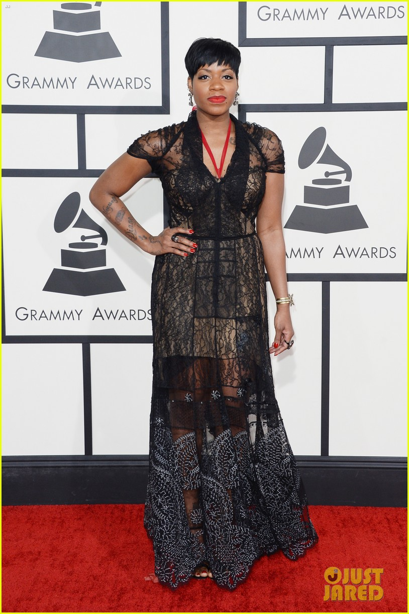 fantasia barrino grammys 2014 red carpet 01