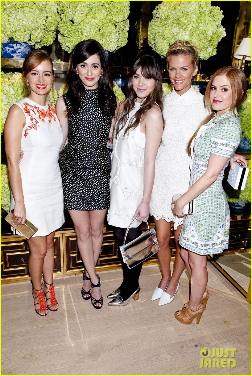 isla fisher ahna oreilly tory burch flagship store opening 033031760