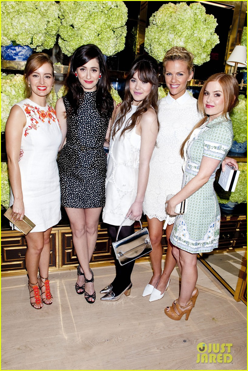 isla fisher ahna oreilly tory burch flagship store opening 073031764