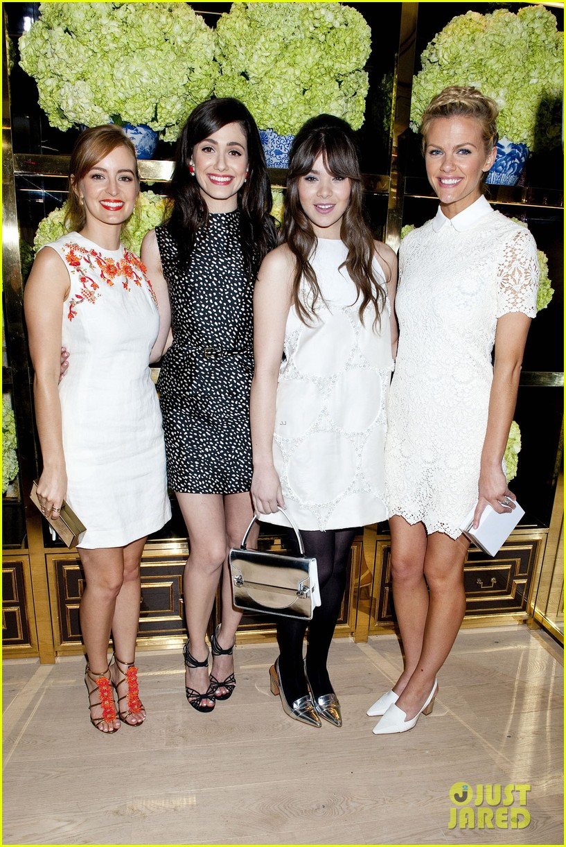 isla fisher ahna oreilly tory burch flagship store opening 083031765